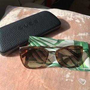 Garrett Leight Tortoiseshell Louella Sunglasses